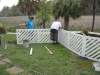 Installing Custom Fence