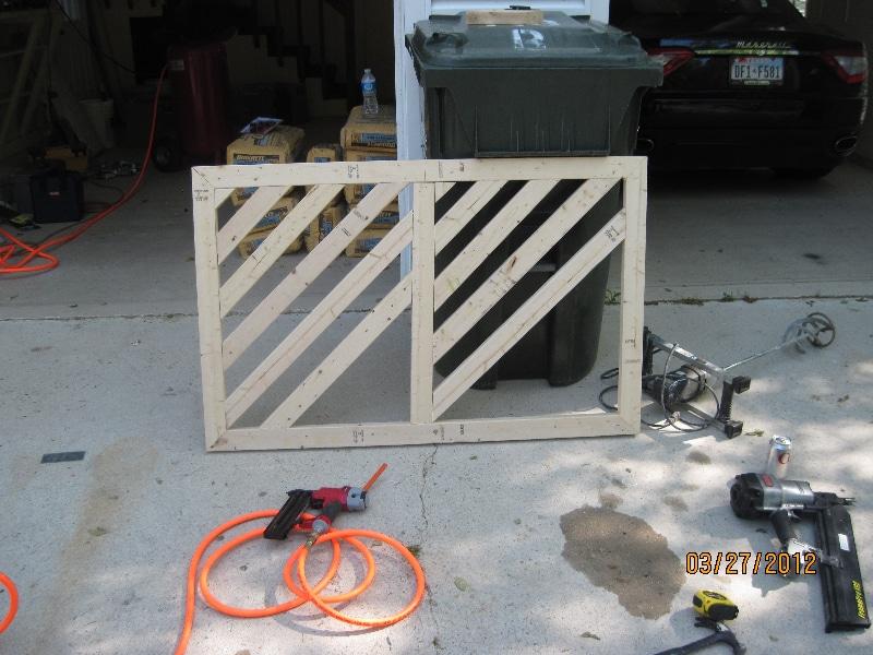 Custom Fence Unfinished