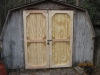 After Picture of Custom Shed Doors