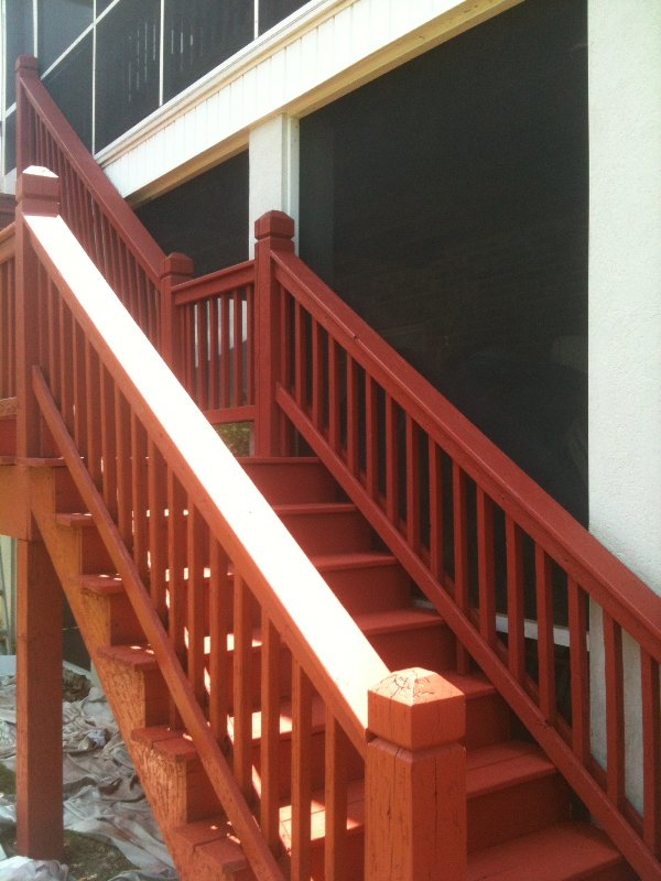 Deck Repair and Staining photo 13