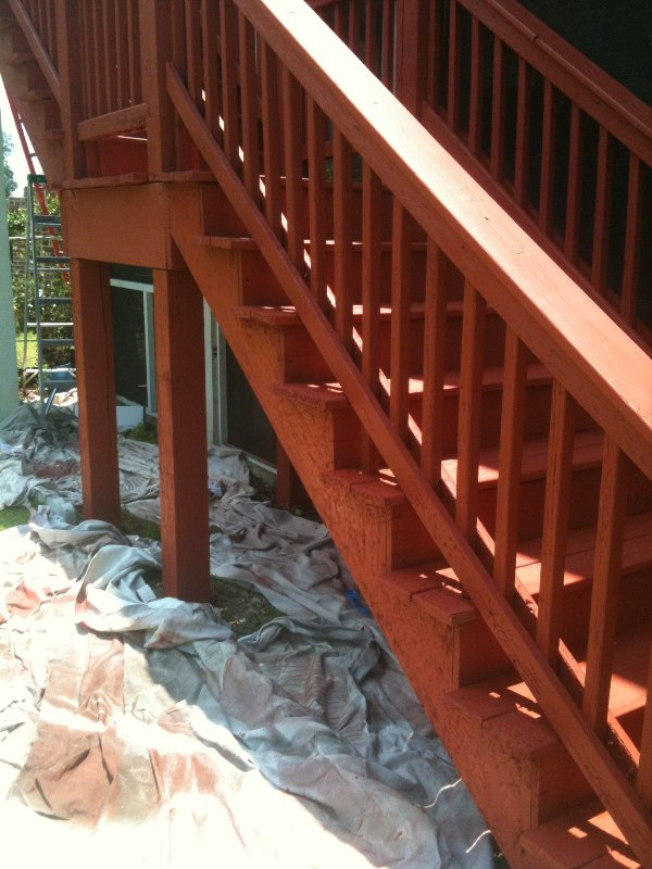 Deck Repair and Staining photo 14