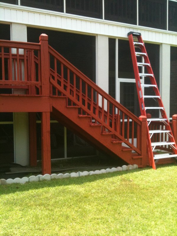 Deck Repair and Staining photo 16