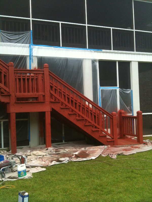 Deck Repair and Staining photo 2