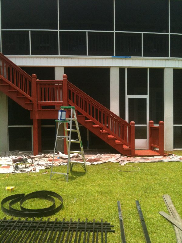 Deck Repair and Staining photo 5