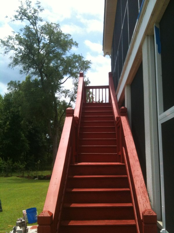 Deck Repair and Staining photo 6