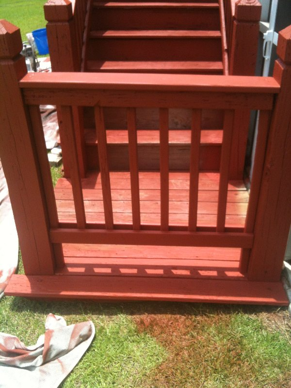 Deck Repair and Staining photo 7