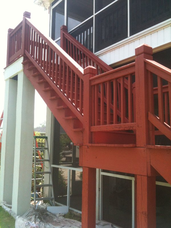 Deck Repair and Staining photo 8