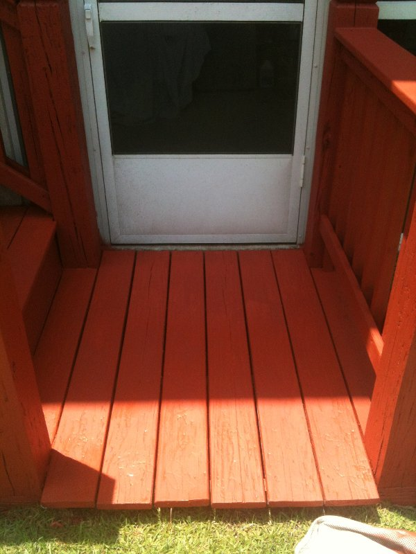 Deck Repair and Staining photo 9