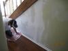 3Drywall Repair on Stairwell