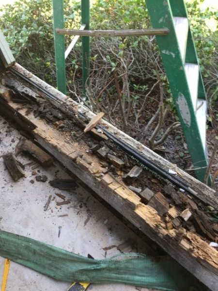 window framing rotted repair savannah