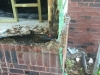 window framing water damage repair handyman savannah