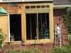replacing water damage framing savannah