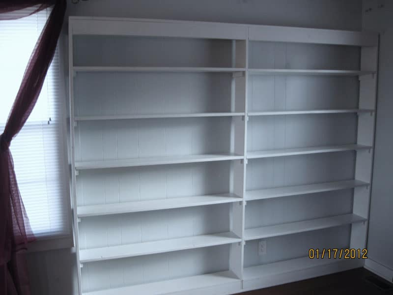 Large Bookcase Completed Picture 2