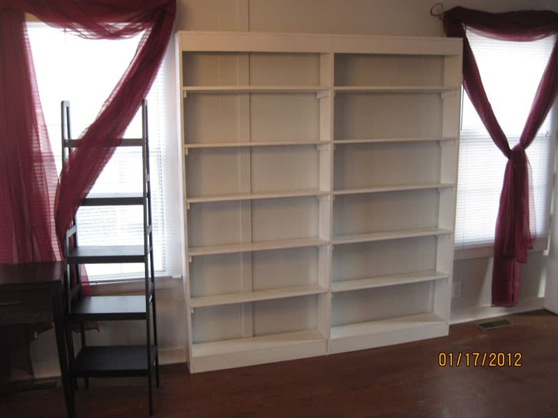 Small Bookcase Completed
