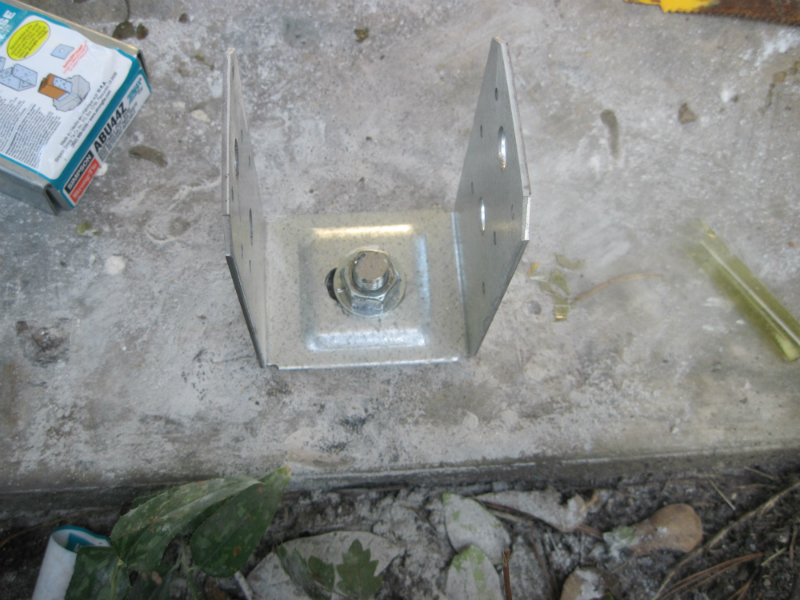 Installed Concrete Anchors