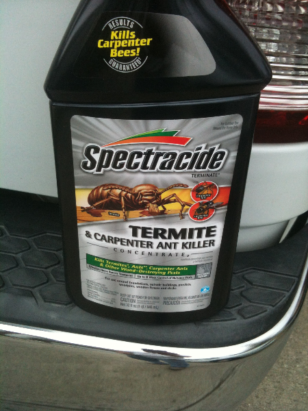 Application of Termite Killer