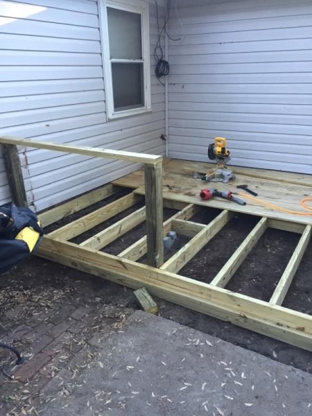 Wood Deck Replacement 11