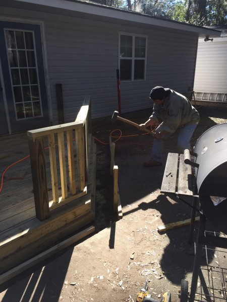 Wood Deck Replacement 13