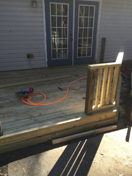 Wood Deck Replacement 14