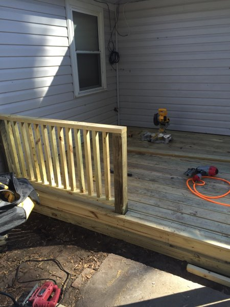 Wood Deck Replacement 15