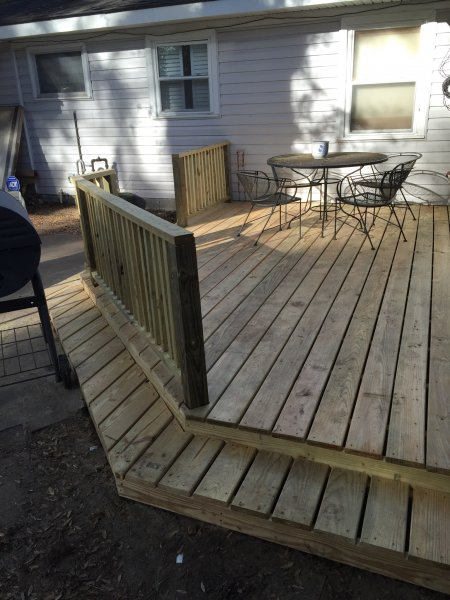 Wood Deck Replacement 18