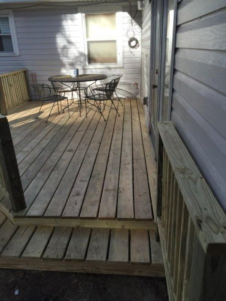 Wood Deck Replacement 19