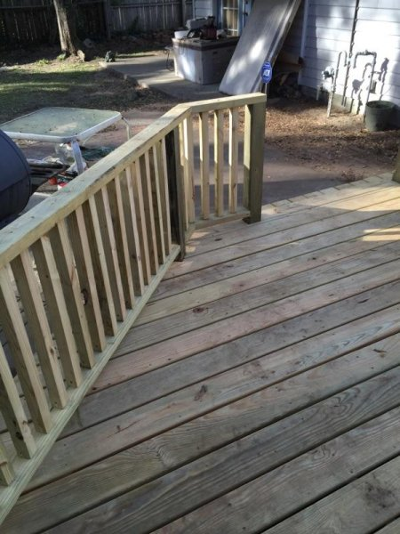 Wood Deck Replacement 20