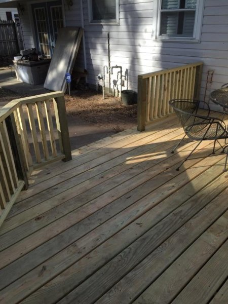 Wood Deck Replacement 21