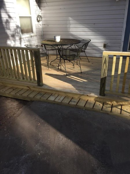 Wood Deck Replacement 23