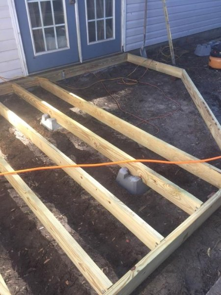 Wood Deck Replacement 5