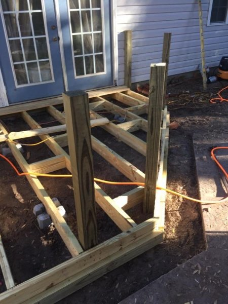 Wood Deck Replacement 7
