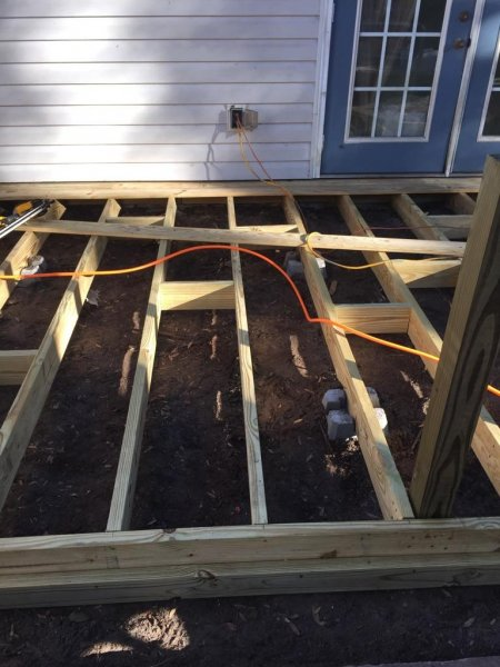 Wood Deck Replacement 8