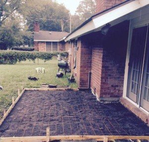 concrete patio improvement savannah ga