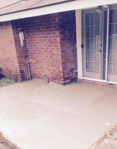 concrete patio improvement savannah ga concrete pad