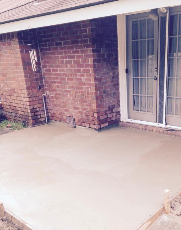 concrete patio improvement savannah ga concrete pad
