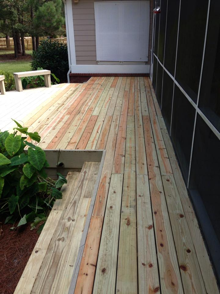 Finished Deck Repair Savannah Ga