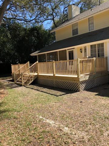 Building a New Wood Deck for Home